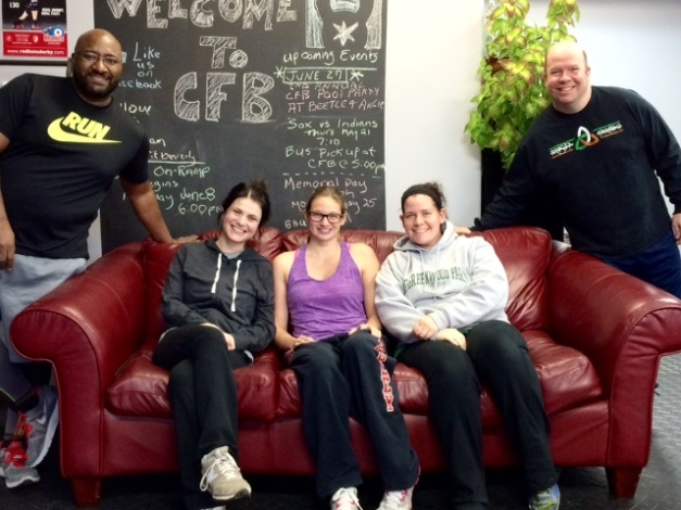 May On-Ramp Athletes From Left: Eric, Bridget, Alyssa, Kate, Tom.  Not Pictured, Bryan