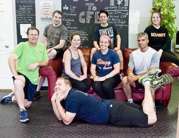 June On-Ramp Class From left: Jim, Sean, Geri, Annette, Molly Ray, Christine. Bottom: Scott