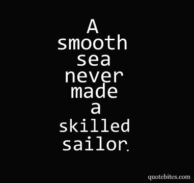 Skilled sailor