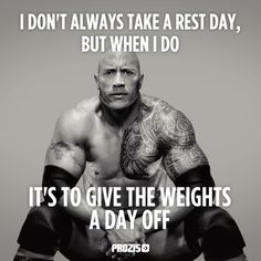 rock rest day