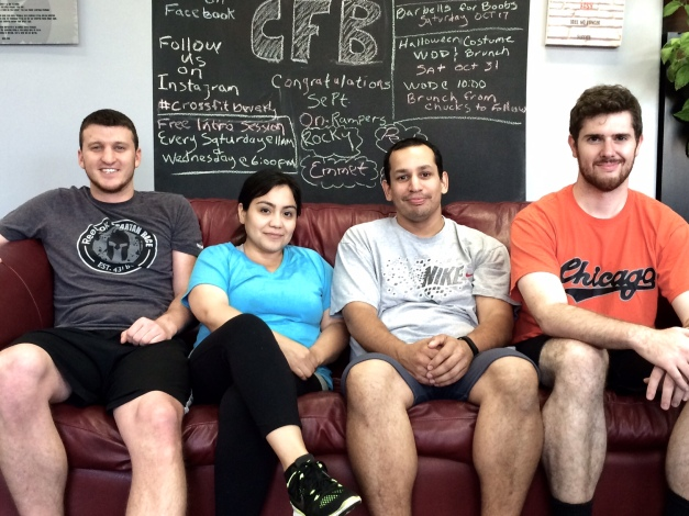 Congrats Sept On Rampers From Left: Andy, Perla, Rocky, Emmet