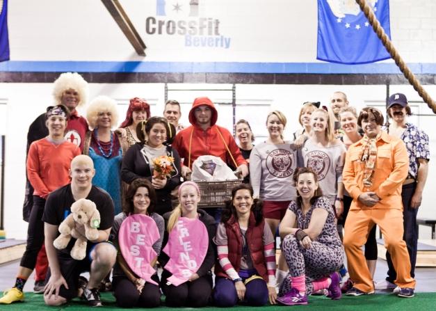 2015 Halloween WOD Group