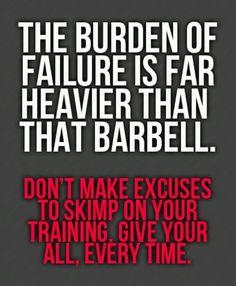 Burden of failure