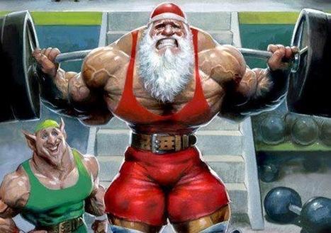 Santa Back Squat