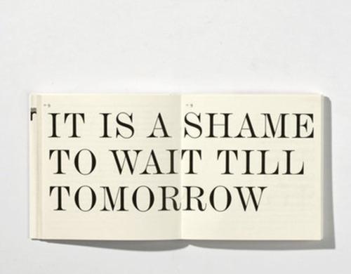 shame for tomorrow