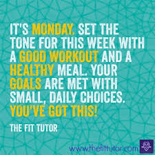 Monday healthy